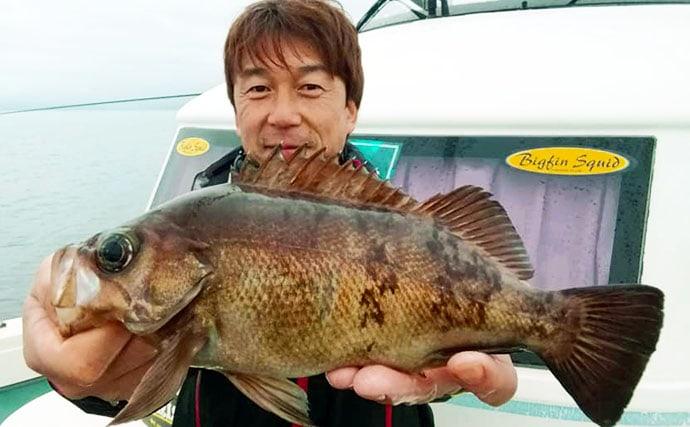 【三重&福井】沖釣り最新釣果 マダイ数釣りに旬のヤリイカ100匹超え