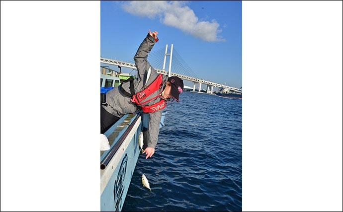 東京湾の定番『LTアジ』釣りに挑戦 3時間で100尾超え【黒川本家】