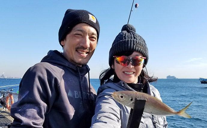 再開直後の『本牧海づり施設』取材レポ 約半年ぶりに釣り人の笑顔戻る