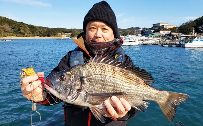 【三重県】イカダ&カセ最新釣果 59cm頭に年無しチヌが各地で顔出し