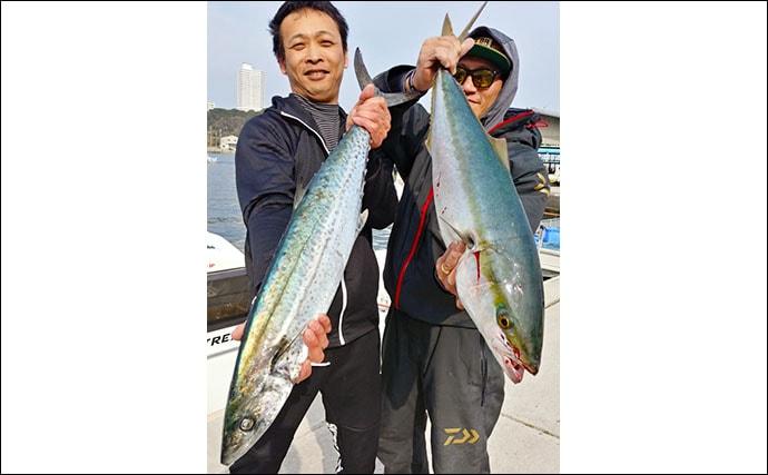 【愛知県】沖のルアーフィッシング最新釣果 ジギングでサワラ&ブリ好調