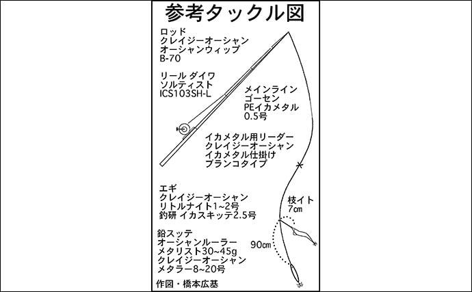 熊野灘の冬の風物詩『メタルスッテゲーム』解説 3種のイカを同時に狙う