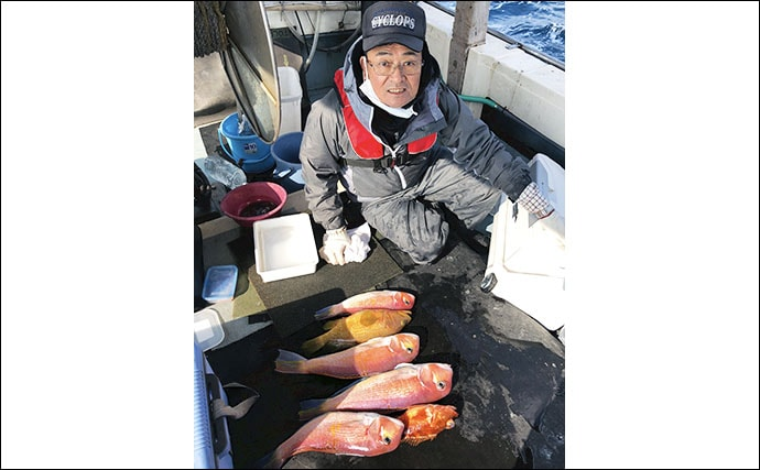 【福岡県】沖のエサ釣り最新釣果情報 泳がせ釣りで良型ハタ類絶好調