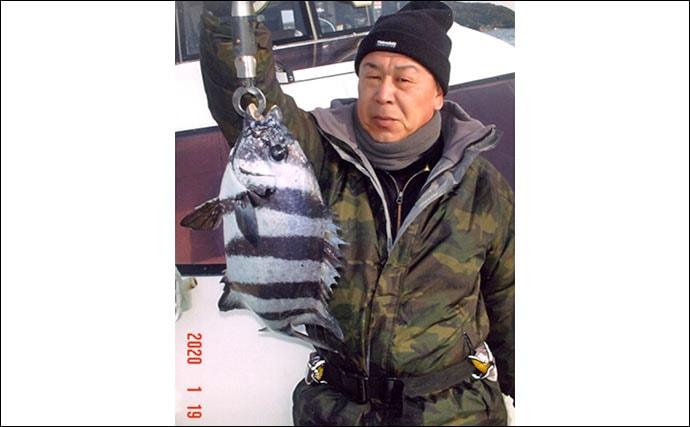 潮動かずリリースサイズばかり 船カワハギ釣りで40尾【第二SOYAMARU】