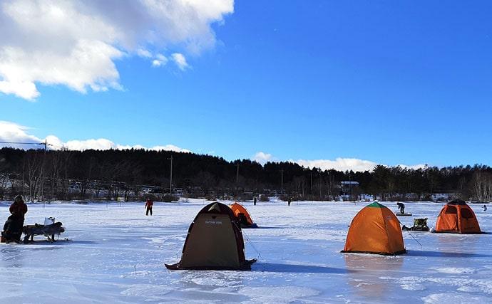 【2020冬】暖冬の影響でシーズンインが遅延 『氷上』ワカサギ釣りを解説