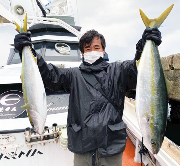 【福岡】沖釣り最新釣果 9kgヒラマサに寒ブリなど大型青物が絶好調