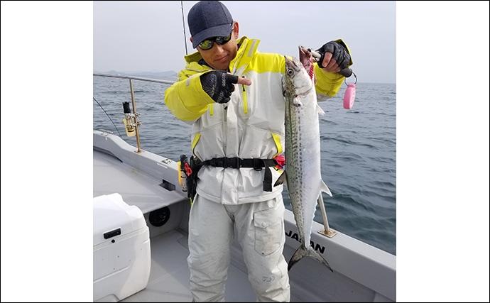 初挑戦でもサワラにヒラメ 『伊勢湾ジギング』でワイワイ釣行【愛知】