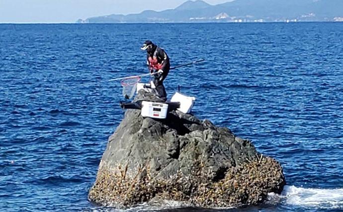 寒グレフカセ釣行 厳しい状況下でも30cm級ポツポツ【和歌山・串本】