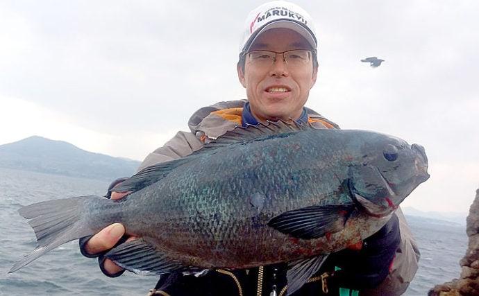 磯釣りの楽園「五島列島」遠征釣行 49cm頭に良型グレ乱舞【長崎】