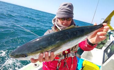 【愛知県】沖のエサ釣り最新情報 泳がせ釣りで良型ワラサにヒラメ浮上