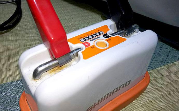 電動リール用バッテリーのキホンと選び方 中古購入には要注意?