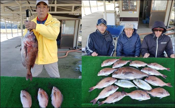 【三重】イカダ&海上釣り堀最新釣果 釣りキッズがワラサをゲット