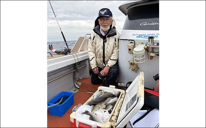 【玄界灘】沖のエサ釣り最新釣果 五目釣りでタカバやアオナなど根魚好調