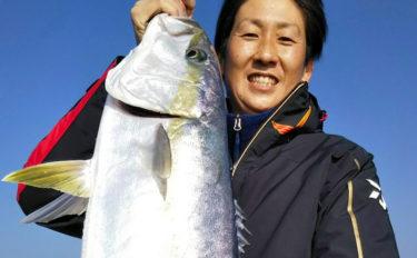 【響灘】タイラバ&ジギング最新釣果 ヒラマサ&ブリなど青物好調継続
