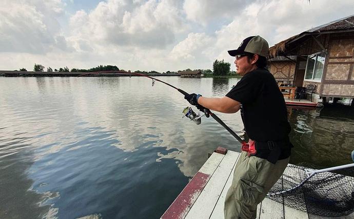 タイ王国でモンスター『メコンオオナマズ』を釣る 20kg超えが連発