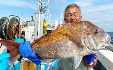 【福岡県】沖のエサ釣り最新情報 84cmマダイ浮上&アマダイも好調