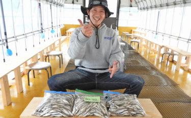 ドーム桟橋でのワカサギ釣り 猛烈な入れ食いで1654尾達成【河口湖】