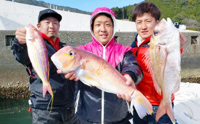 【三重】沖釣り最新釣果 レンタルボートで50cm超マダイ&アマダイ