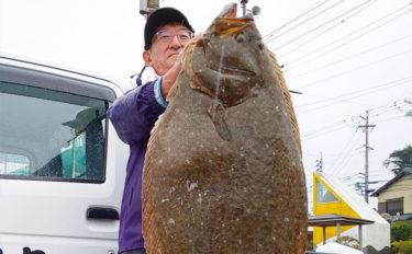 【愛知】沖のエサ釣り最新釣果 98cm11.85㎏超特大ヒラメが浮上