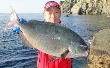 夢のロクマル狙いの磯フカセ釣り 65cm尾長グロ浮上【男女群島】