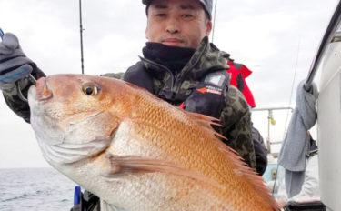 【響灘&芦屋】沖のルアーフィッシング最新釣果 タイラバで良型続々