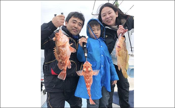 【福岡県】沖のエサ釣り最新釣果 アラカブ1人70尾の数釣り達成
