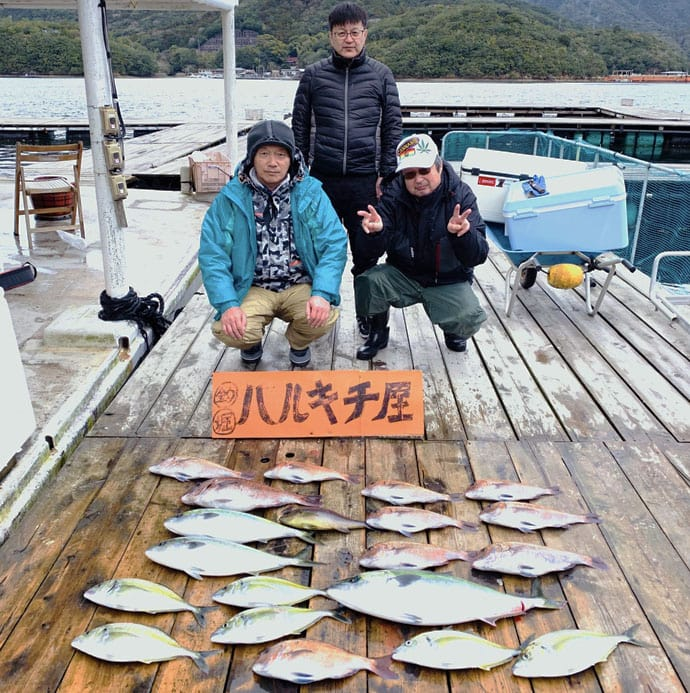 【三重】海上釣り堀最新釣果 マダイにワラサにシマアジと魚種豊富に満喫