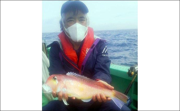【玄界灘】船釣り最新釣果 タイラバで7kg頭にマダイ数釣り釣果続々