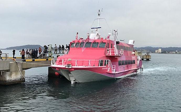伊豆大島で2daysフカセ釣行 港から地磯への移動が奏功【伊豆大島】