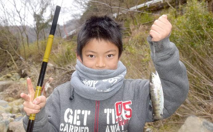 釣り&清掃の「マス・アマゴ自然渓流釣り大会」レポート【一庫大路次川】
