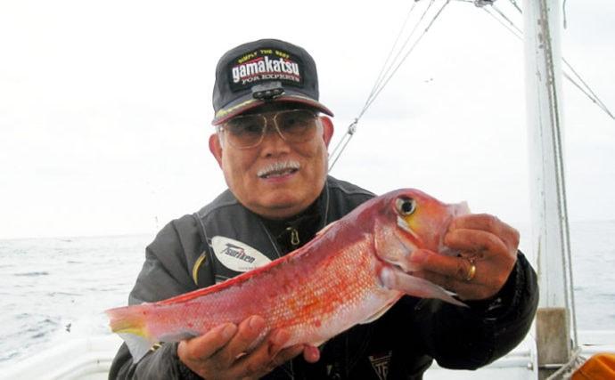玄界灘「テンビン五目」釣りでアマダイ・青物・マダイに根魚【福岡県】