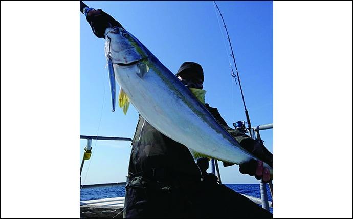 【福岡県】沖のルアーフィッシング最新釣果 10kg級ブリにマダイ74尾