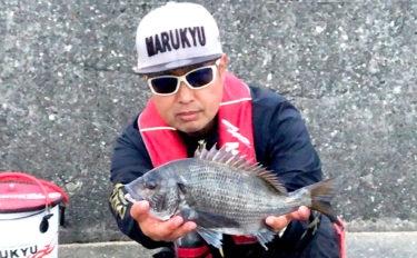 ウキダンゴ釣りで『乗っ込み』クロダイ連発【静岡県・浜名湖】