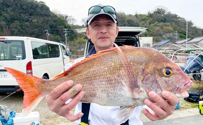 【愛知】沖のルアーフィッシング最新釣果 タイラバで良型本命他ヒラメも