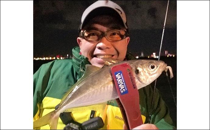 東京湾のオフショアアジング解説 2大釣法「バチコン」&「ジグ単」