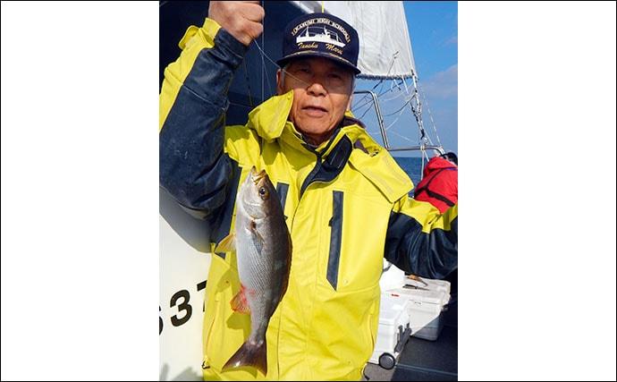 【九州2020春】船イサキ釣りのキホン解説 タックル・エサ・釣り方