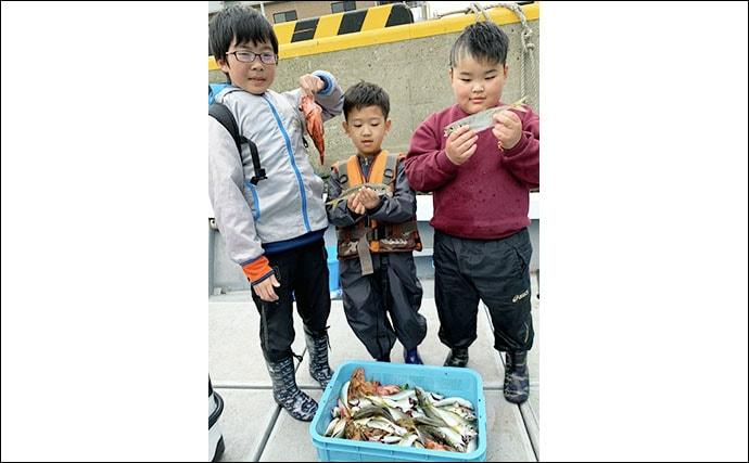 【福岡】エサでの船釣り最新釣果 沖アラカブにアジの数釣りに注目
