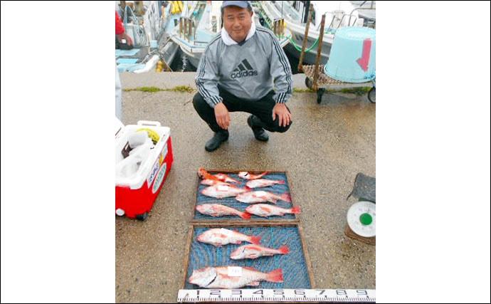 【愛知・三重】沖釣り最新釣果 水温上昇とともにスズキの活性上向き
