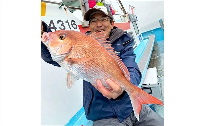 【愛知・三重】沖のルアーフィッシング最新釣果 マダイ狙いタイラバ好機