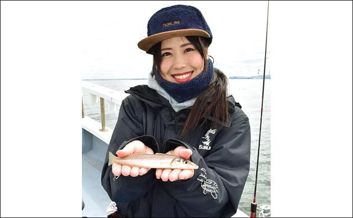 東京湾で船シロギス快釣 一人100尾超えの釣果も【神奈川・進丸】