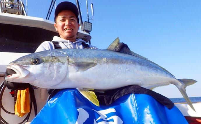 【玄界灘】ルアーフィッシング最新釣果 キャスティングで10kgヒラマサ