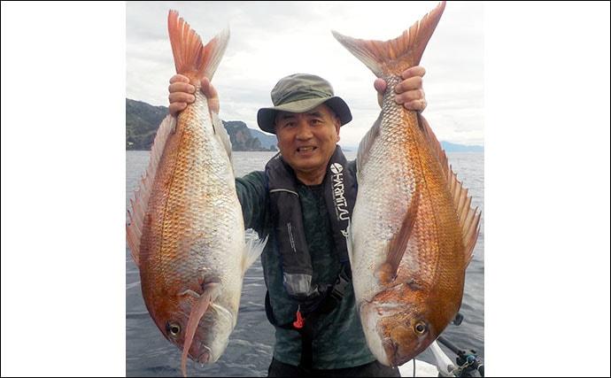 『完全フカセ釣り』で良型乗っ込みマダイ乱舞【福井・越前】