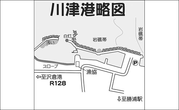 関東アジング好釣り場:川津港 詳細ポイント&攻略法
