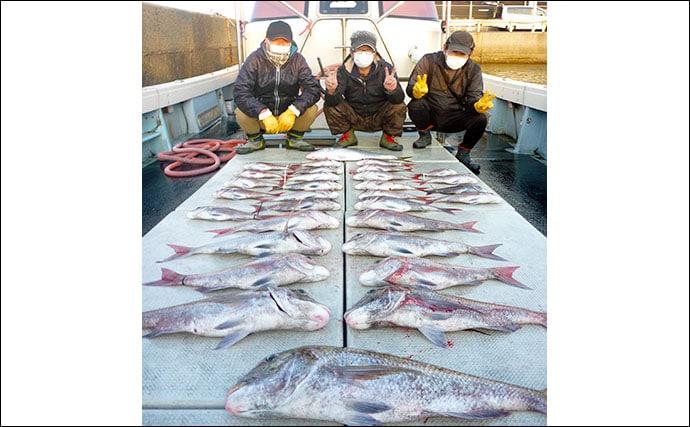 【玄界灘】沖のルアーフィッシング釣果情報 ジギングで良型ヒラマサ