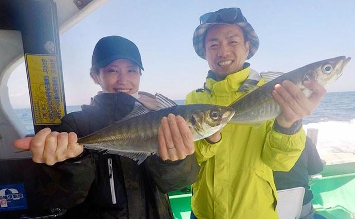 【大分・熊本】沖釣り釣果情報 55cm大アジにメーター超ヒラマサ