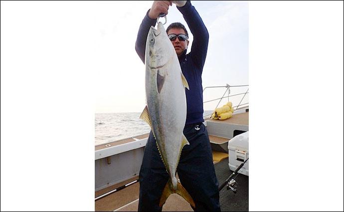 【玄界灘】沖のルアーフィッシング釣果情報 タイラバで良型マダイ登場