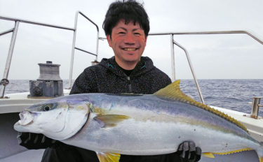 『春マサ』狙いジギング 9.2kg頭に船中ヒラマサ乱舞【エル・クルーズ】