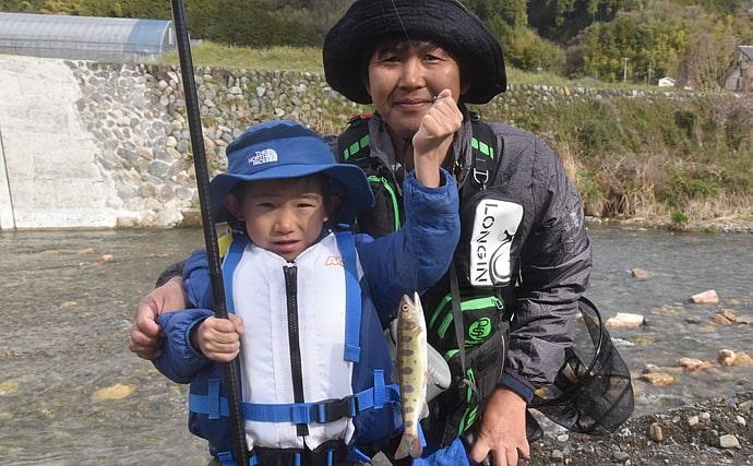 子供に渓流釣りを楽しませる3原則は「安全」「賞賛」「安心」