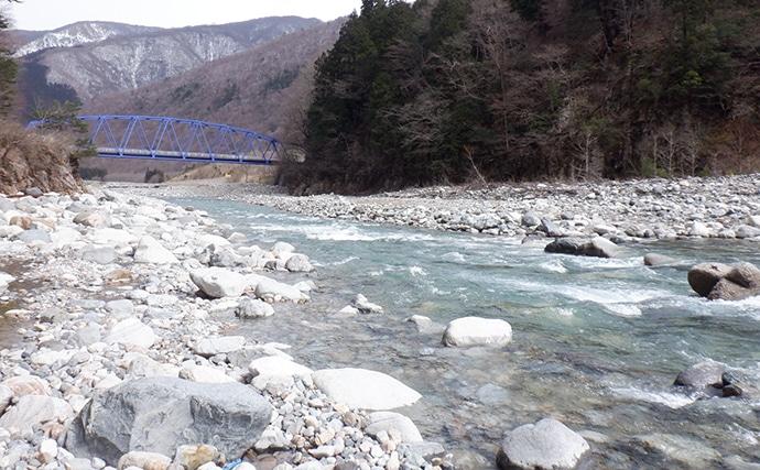 渓流ルアー釣行でイワナ・ヤマメ・ニジマス 天然モノも【岐阜・庄川】