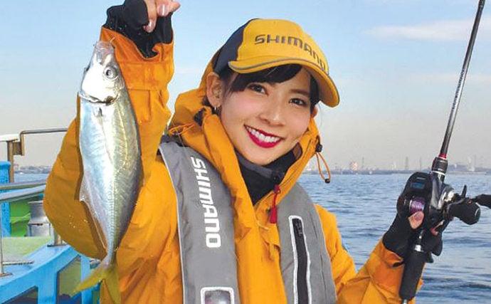 阪本智子が解説 東京湾で楽しめる大好きなライトゲーム3ターゲット